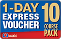 5 Course Pack 1-DAY EXPRESS Voucher