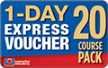 10 Course Pack 1-DAY EXPRESS Voucher